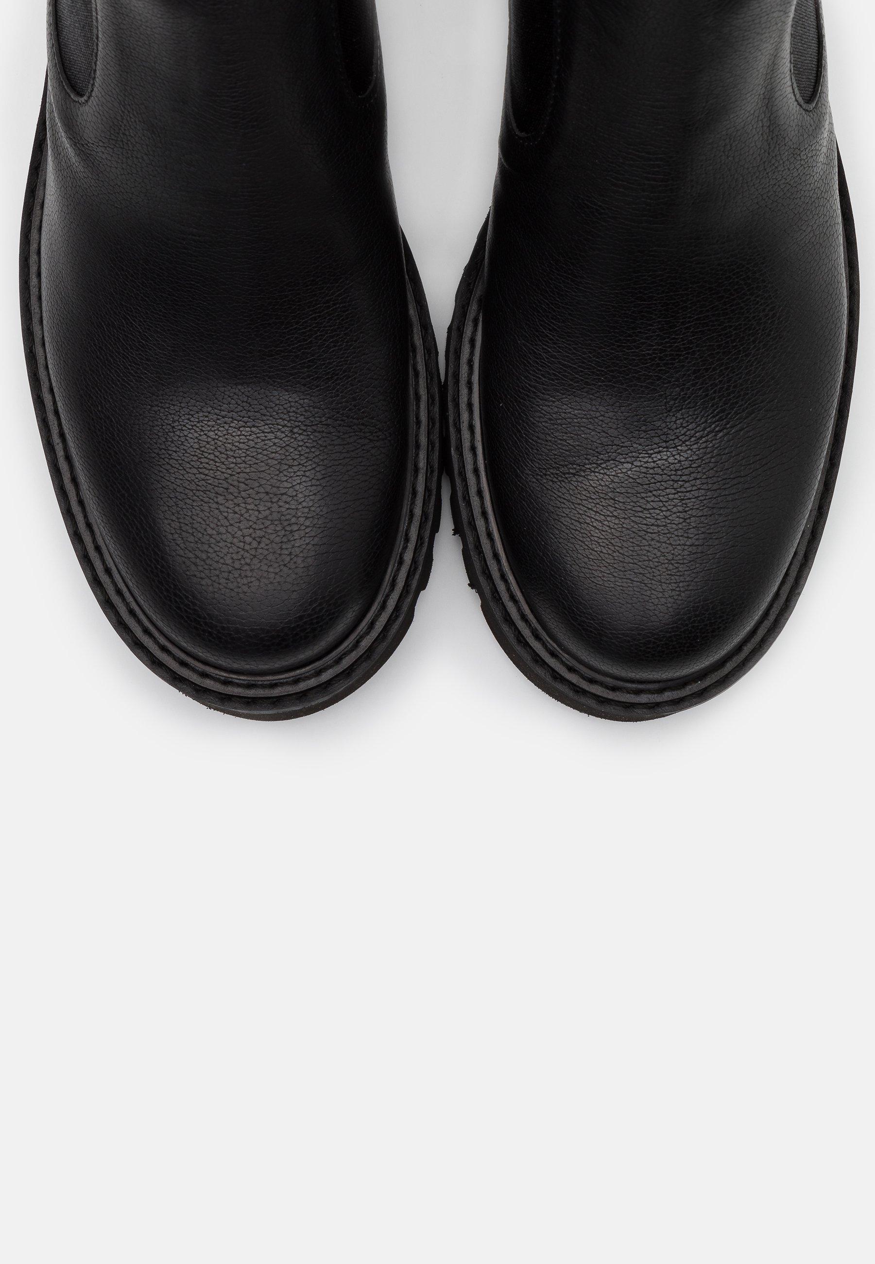 Homers ROW Plateaustiefelette black/schwarz