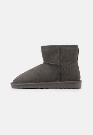 LEATHER - Bottes de neige - grey