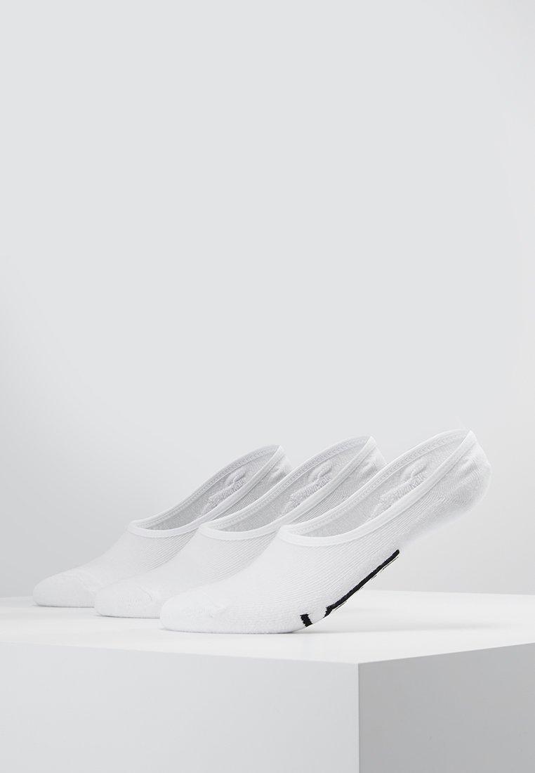Vans - UA CLASSIC SUPER NO SHOW (6.5-9, 3PK) - Trainer socks - white
