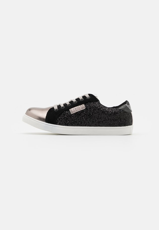 GARINA - Sneakers laag - noir/etain