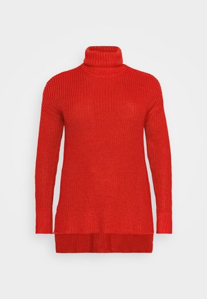 ROLL NECK - Jumper - red