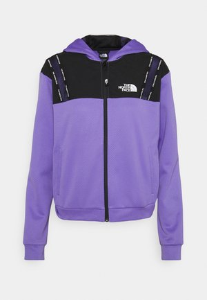 FULL ZIP - Summer jacket - pop purple
