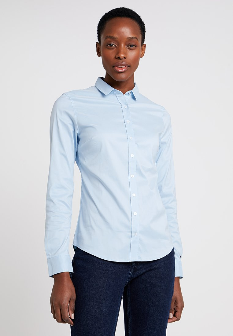 Tommy Hilfiger - HERITAGE SLIM FIT - Button-down blouse - skyway
