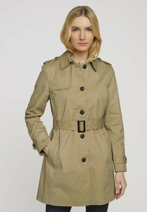 Trenchcoat - smoked beige