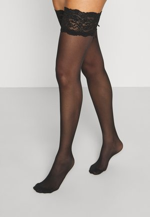 UP SEDUCTIONSEXY - Calcetines por encima de la rodilla - black