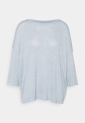 VMBRIANNA - Stickad tröja - blue fog/birch melange