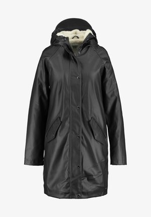 JANICE TEDDY - Waterproof jacket - black