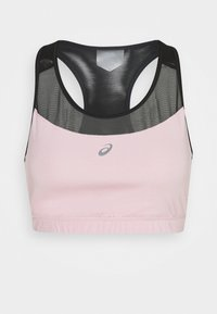 NEW STRONG BRA - Medium support sports bra - performance black/ginger peach