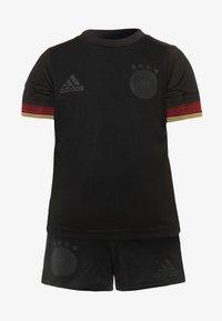 adidas Performance - DFB DEUTSCHLAND A BABYKIT - Klubové oblečení - black - 0