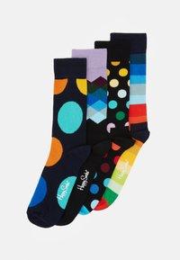 Happy Socks - CLASSIC SOCKS GIFT SET 4 PACK - Socks - black/multi - 0
