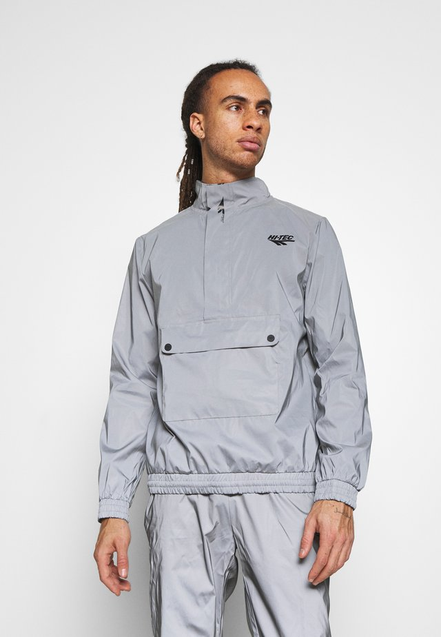 WILLIAM REFLECTIVE TRACK JACKET - Sportovní bunda - silver