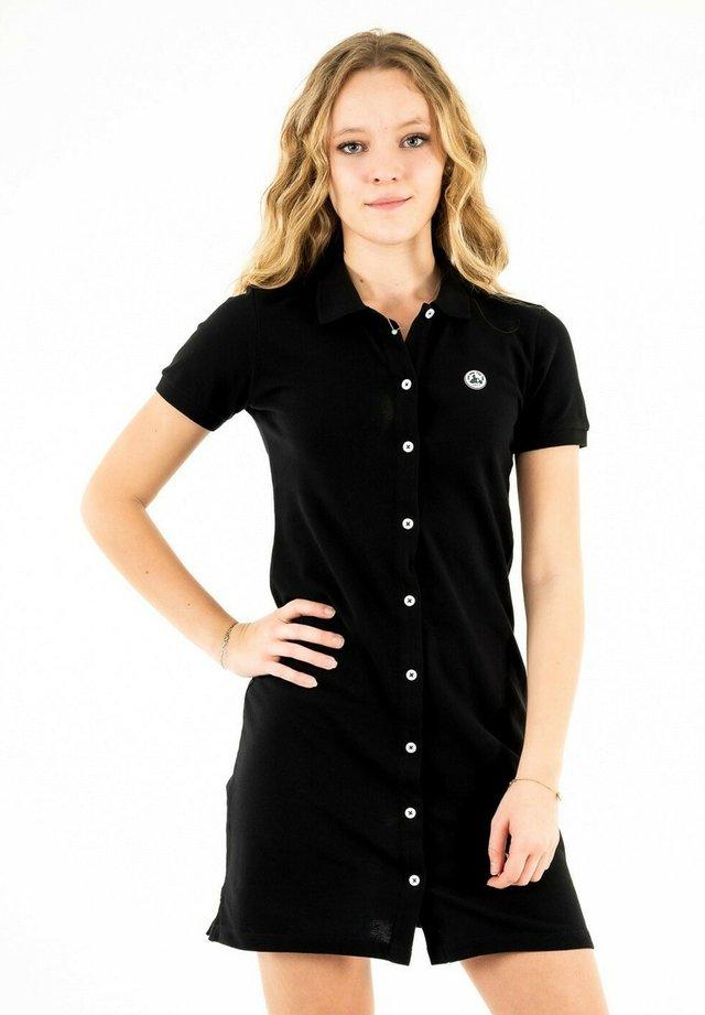 LOM - Robe chemise - noir