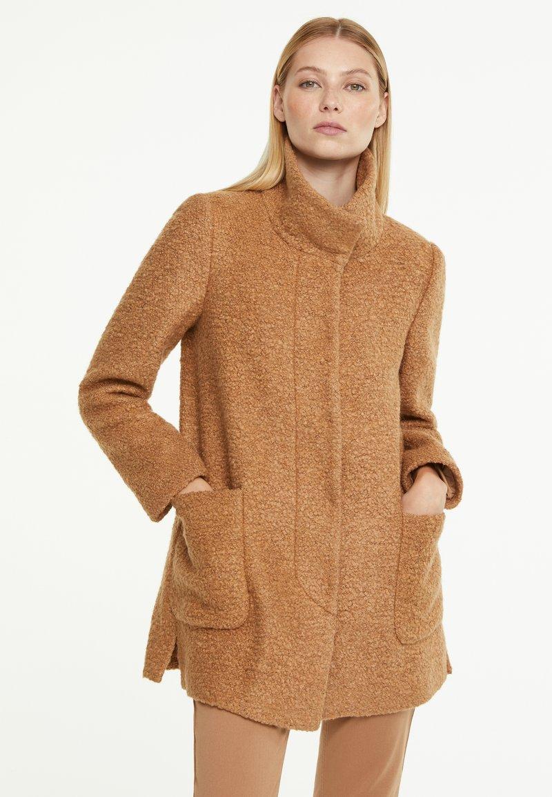 comma - Winter jacket - camel