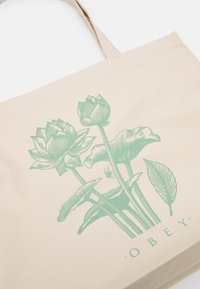 Obey Clothing - LOTUS SPIDER UNISEX - Tote bag - natural - 4