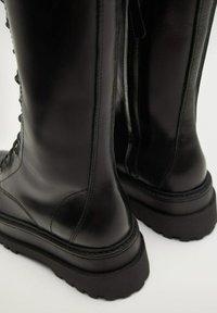 Mango - MONET - Lace-up ankle boots - schwarz - 7