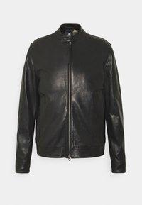 Replay - JACKET - Leather jacket - black - 0