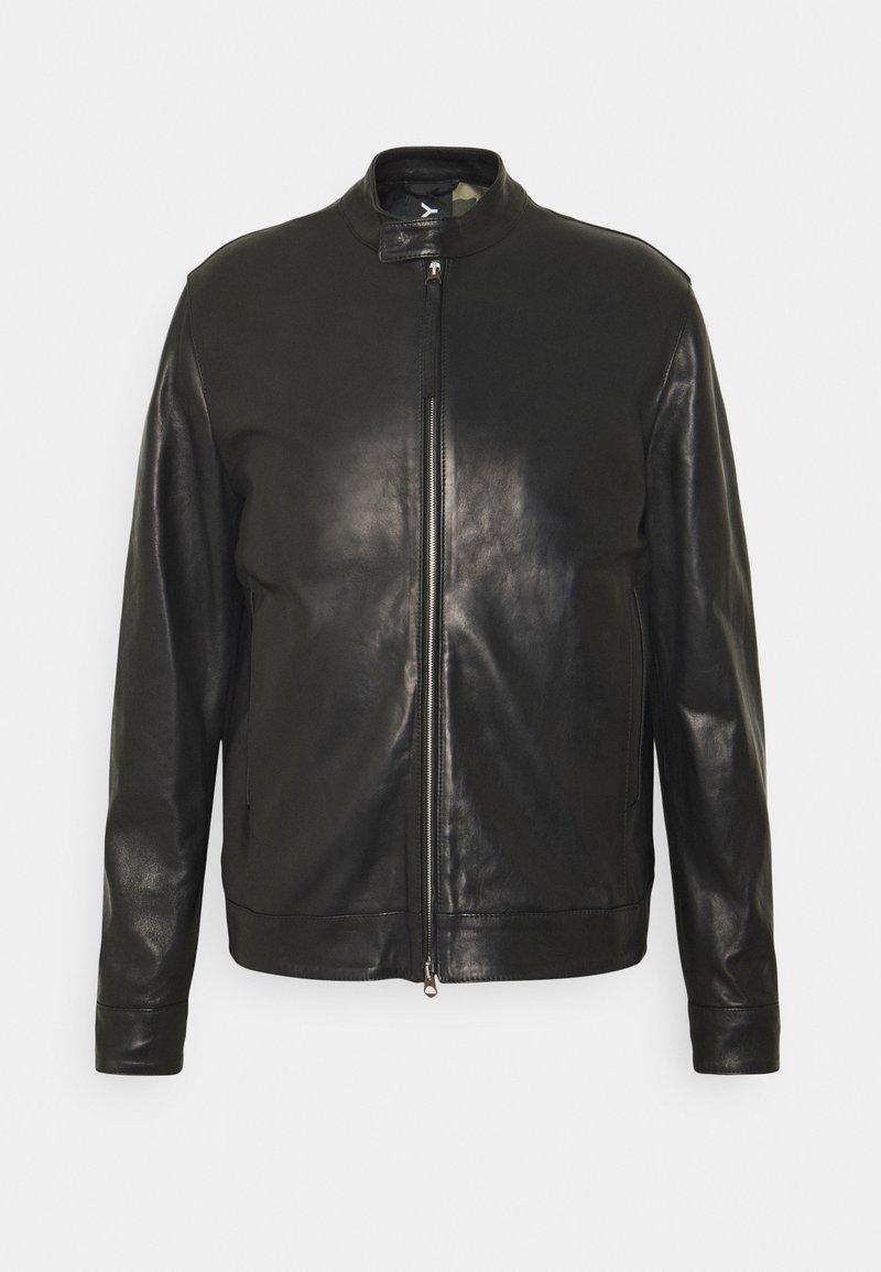 Replay - JACKET - Leather jacket - black
