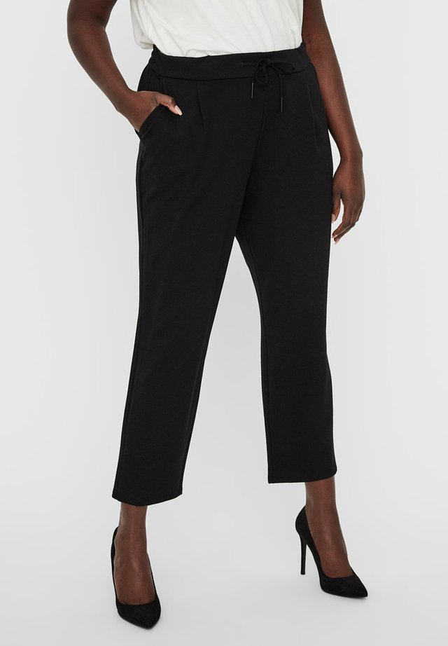 HOSE NORMAL WAIST - Pantaloni - black