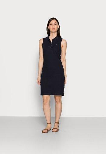 SLIM - Day dress - blue