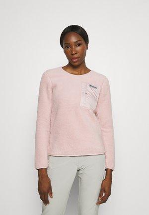 WEST BEND™ CREW - Fleece jumper - mineral pink