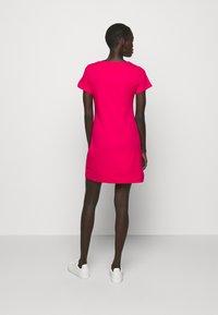 Love Moschino - Jersey dress - fuchsia - 3