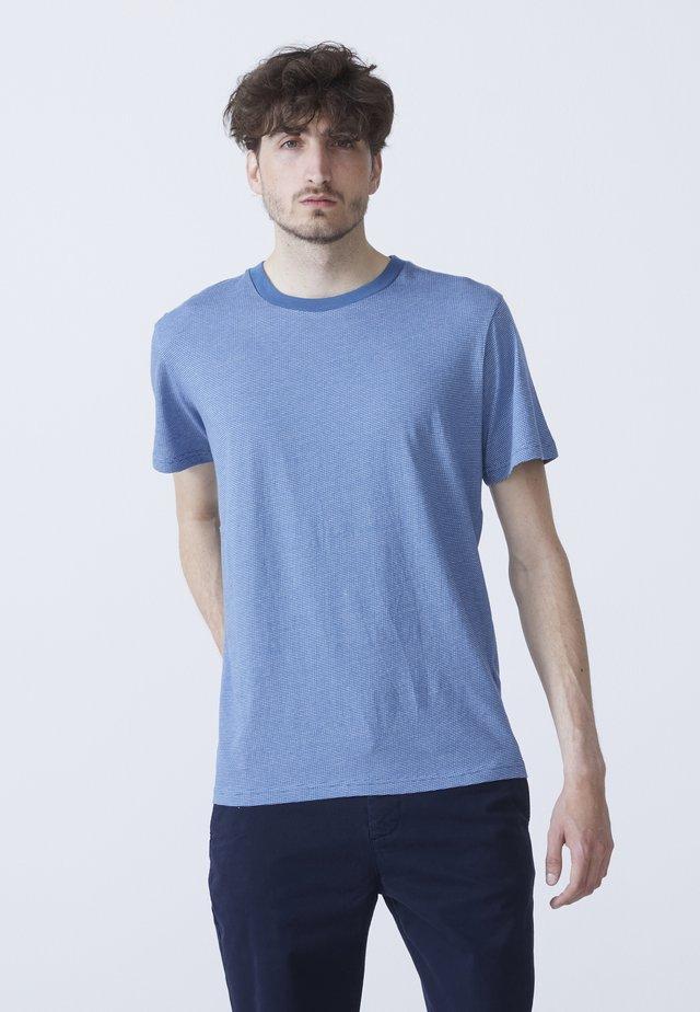 ADAM - T-shirt med print - dark blue