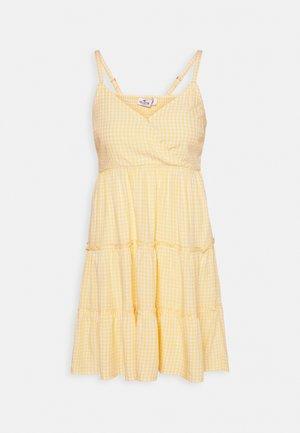 BARE FEMME SHORT DRESS - Day dress - yellow