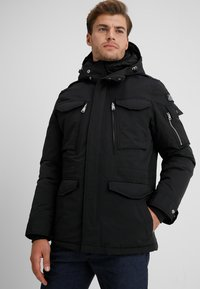 Schott - SMITH - Winter jacket - black - 0