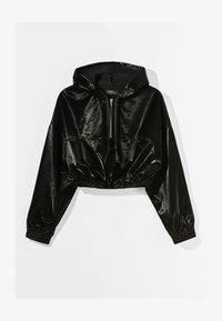 Bershka - MIT KAPUZE - Sweatshirt - black - 5