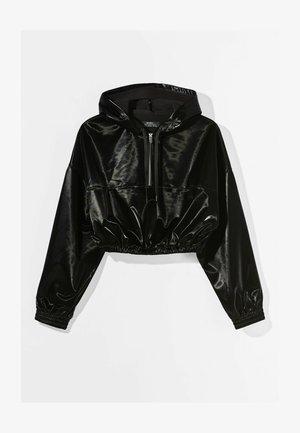 MIT KAPUZE - Sweatshirts - black