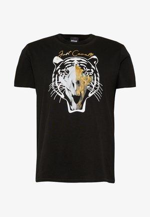 TIGER  - T-shirt imprimé - black