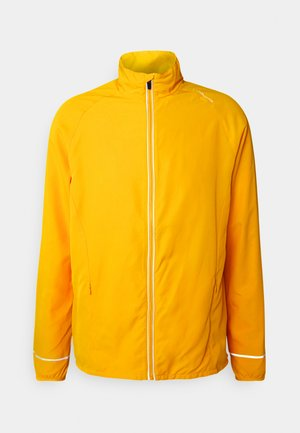 LESSEND JACKET - Löparjacka - dark yellow