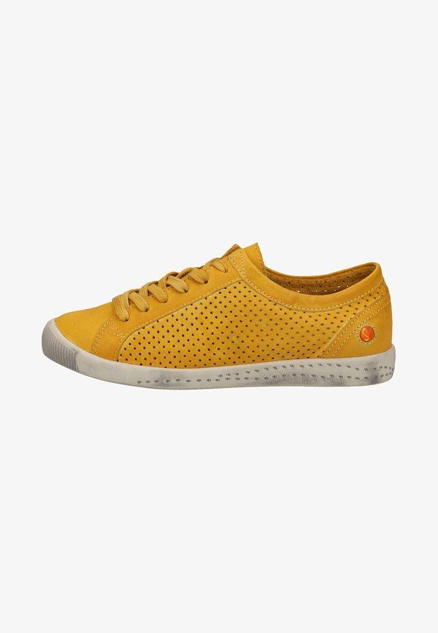 Baskets basses - yellow