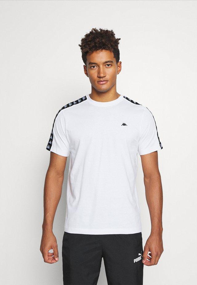 HANNO TEE - T-shirt print - bright white