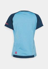 Zimtstern - PUREFLOWZ WOMENS - Print T-shirt - heritage blue/french navy - 1