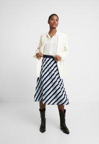 Opus - RUDY - A-line skirt - just blue - 1