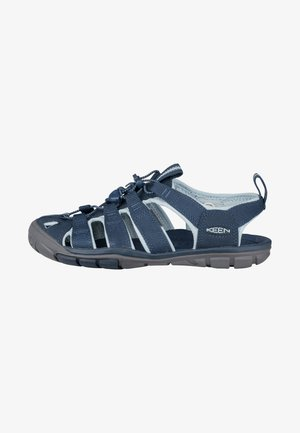 CLEARWATER CNX - Walking sandals - navy/blue glow