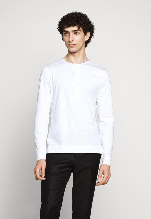 CAPPE - Top sdlouhým rukávem - pure white