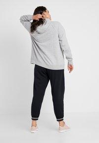 Nike Sportswear - HOODY PLUS - Mikina na zip - grey heather/white - 2