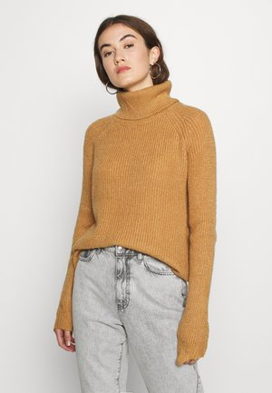 VIJUPA TURTLE NECK - Jumper - tigers eye