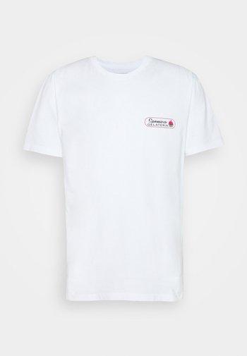 SAMUEL GELATO - T-shirt z nadrukiem - white