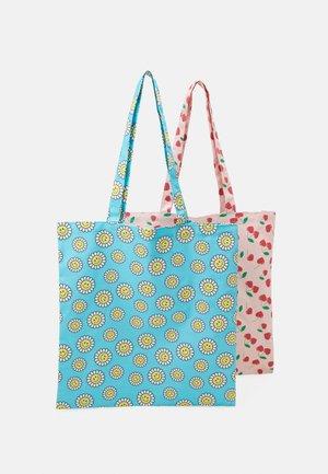 FACY TOTEBAG ZAL 2 PACK  - Shoppingveske - candy pink/little boy blue