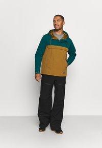 Patagonia - ISTHMUS ANORAK - Hardshell jacket - mulch brown - 1
