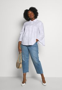 Levi's® Plus - 501® CROP - Straight leg -farkut - blue denim - 1
