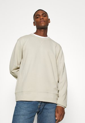 Sweater - beige dusty light