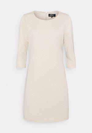 ONLJOYCE 3/4 DRESS  - Jersey dress - pumice stone