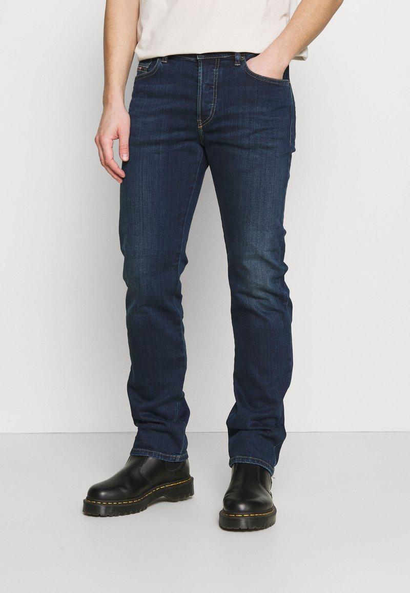 Diesel - D-MIHTRY - Straight leg jeans - dark blue