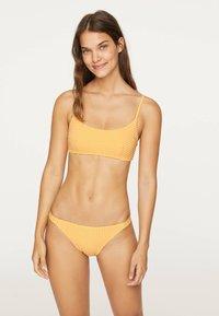 OYSHO - GINGHAM CLASSIC - Bikiniunderdel - yellow - 1