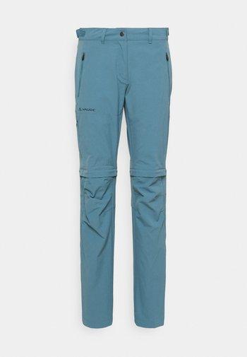 WOMENS FARLEY STRETCH ZIP PANTS - Bukser - blue gray