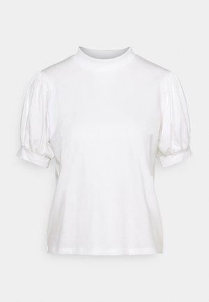 SHORT SLEEVE - Print T-shirt - antique white